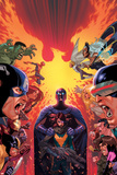 What If Avx 1 Cover: Hulk  Captain America  Iron Man  Beast  Wolverine  Hope  Magneto
