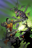 Cable and X-Force 12 Cover: Colossus  Domino