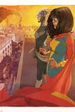 Ms Marvel (Kamala Khan) Captain Marvel Featuring Ms Marvel (Kamala Khan)  Captain Marvel