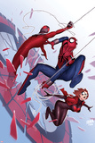 Scarlet Spiders No 1 Cover  Featuring: Scarlet Spider  Black Widow  Spider-Man