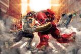 The Avengers: Age of Ultron - Hulk Fights Hulkbuster