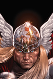 X-Factor No212 Cover: Thor Posing