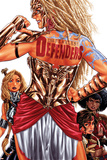 Fearless Defenders 3 Cover: Valkyrie  Misty Knight  Hippolyta