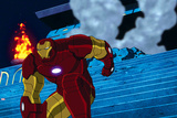 Avengers Assemble Animation Still Featuring Iron Man