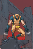 X-Men: Prelude To Schism No4 Cover: Wolverine Crouching