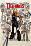 Fearless Defenders 8 Cover: Valkyrie