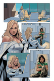 Wolverine and Jubilee No1: Panels with Emma Frost