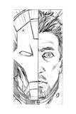 Avengers Assemble Pencils Featuring Iron Man  Tony Stark
