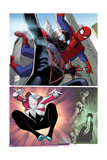 Spider-Verse Team-Up No 2 Cover  Featuring: Spider-Man  Ultimate Spider-Man Morales