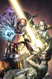 X-Men Legacy No251 Cover: Legion  Magneto  and Rogue