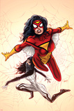 Spider-Woman No 1 Cover  Featuring: Spider Woman  Silk