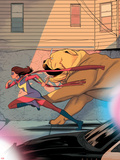 Ms Marvel No 10 Cover  Featuring: Ms Marvel  Lockjaw