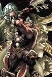 Thor: For Asgard No2 Cover: Thor Slashing