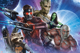 Guardians of the Galaxy - Star-Lord  Drax  Groot  Gamora  Rocket Raccoon