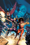 Heroes For Hire No5 Cover: Misty Knight  Paladin  Falcon  Iron Fist