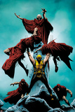 Wolverine No10 Cover: Wolverine Standing and Lifting Another