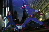 Avengers Assemble Animation Still Featuring Captain America  Black Widow