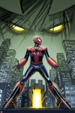 Edge of Spider-Verse No 3 Cover  Featuring: Spider-Man  Aaron Aikman
