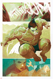 The Totally Awesome Hulk No 9 Panel