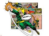 Marvel Comics Retro Badge Featuring Iron Fist