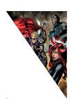 Avengers Assemble Artwork Featuring Hawkeye  Thor  Captain America  Black Widow