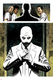 Moon Knight No 2 Panel Featuring: Moon Knight  Mister Knight