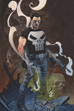 The Punisher No 1 Cover Art
