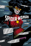Spider-Woman No 6 Cover Art