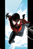 Ultimate Spider-Man No1 Cover: Spider-Man Swinging