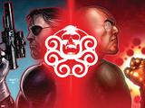 Secret Warriors No26 Cover: Nick Fury and Baron Strucker