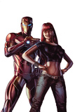 Invincible Iron Man No 7 Cover Featuring Iron Man  Mary Jane Watson