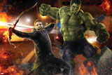 The Avengers: Age of Ultron - Hawkeye and Hulk
