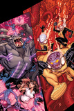 Wolverine & The X-Men No7 Cover: Kitty Pryde  Beast  Iceman  and Rachel Summers