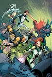 All-New X-Men 19 Cover: Grey  Jean  Beast  Cyclops  Iceman  Angel