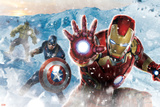 The Avengers: Age of Ultron - Iron Man  Captain America  and Hulk