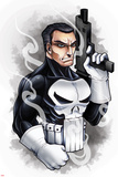 Marvel Knights - Punisher Art Design