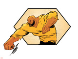 Marvel Knights Badge Art Featuring Luke Cage