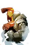 Ultimate Comics Iron Man  Cover Featuring Iron Man