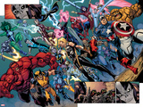Fear Itself: The Fearless No10: Panels with Wolverine  Red Hulk  Ms Marvel  Storm and Others