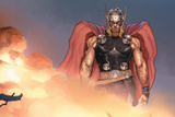 Avengers Assemble Artwork Featuring Thor
