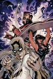 Defenders No2 Cover: Iron Fist  Red She-Hulk  and Dr Strange