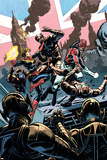 Avengers Assemble 15Au Cover: Captain Britain  Captain Marvel  Ultron