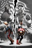 Sam Wilson  Captain America 1 with Steve Rogers  Falcon Cap  Captain America  Redwing  Falcon