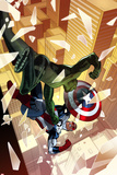 Captain America: Sam Wilson No4 Cover  Featuring Viper (Jordan Stryke) and Falcon Cap