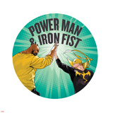 Marvel Knights Badge Art Featuring: Luke Cage  Iron Fist