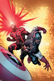 A+X 13 Cover: Cyclops  Captain America