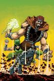 Uncanny Inhumans No 5 Cover Featuring Karnak  Gorgon