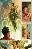 Totally Awesome Hulk No 5 Panel Featuring: Enchantress  Amadeus Cho