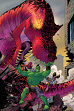 Moon Girl and Devil Dinosaur No 4 Cover Featuring Devil Dinosaur  Totally Awesome Hulk  Moon Girl