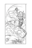 Avengers Assemble Pencils Featuring Thor